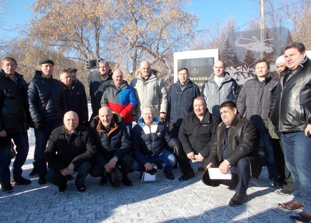 Сегодня коркинцы почтили память погибших воинов-интернационалистов