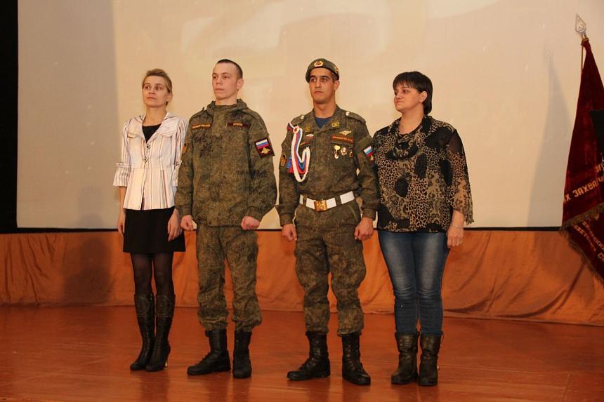 В Коркинском районе поздравили и наградили защитников Отечества