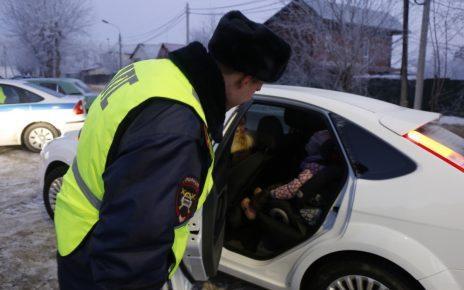 Завтра в Коркинском районе проверят, как водители перевозят детей