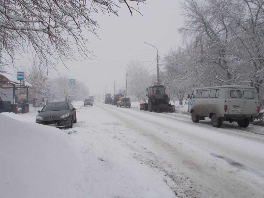 Циклон принёс массу неприятностей жителям и коммунальщикам Коркинского района