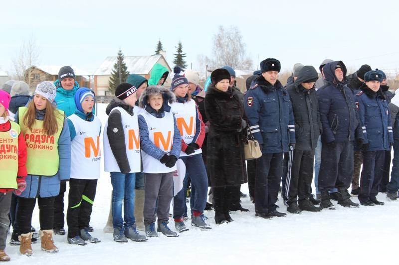 В Коркино полицейские встречают женский праздник по-спортивному