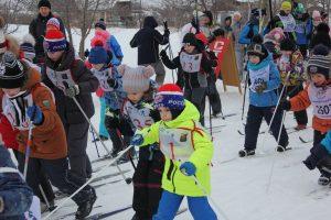 Пять коркинцев стали победителями лыжной гонки