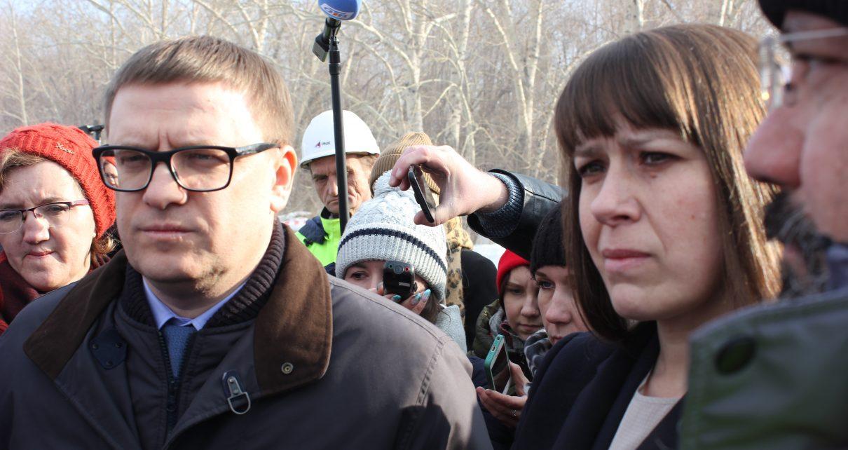 Алексей ТЕКСЛЕР с утра побывал на угольном разрезе «Коркинский» и мусорной свалке на Розе