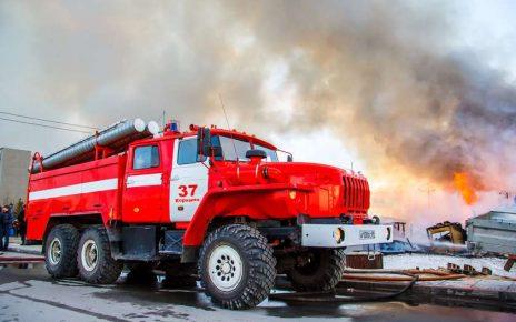 Два частных дома горели в Коркино