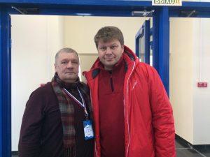 Юрий Сейидов улетает в Коламбус к Артемию Панарину