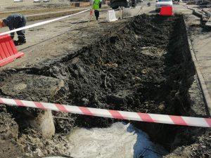 В Коркино произошла авария на канализационном коллекторе