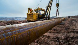 На Коркинском разрезе начали прокладку трубопровода для закладочного материала (4)