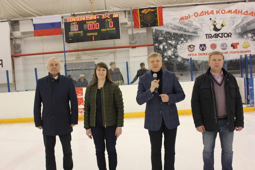Коркинцы выиграли турнир на призы депутата Госдумы Дмитрия Вяткина
