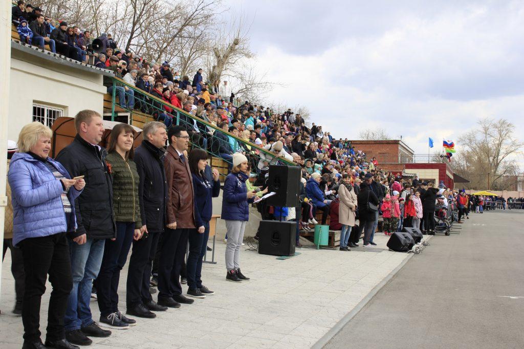 В Коркинском районе 69-я легкоатлетическая эстафета собрала около 800 участников