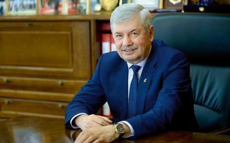 Владимир Мякуш поздравляет ветеранов и тружеников тыла с Днём Победы