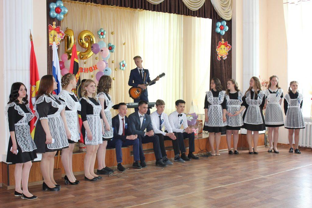 Вчера для коркинских школьников прозвенел последний звонок, а уже сегодня  начались экзамены