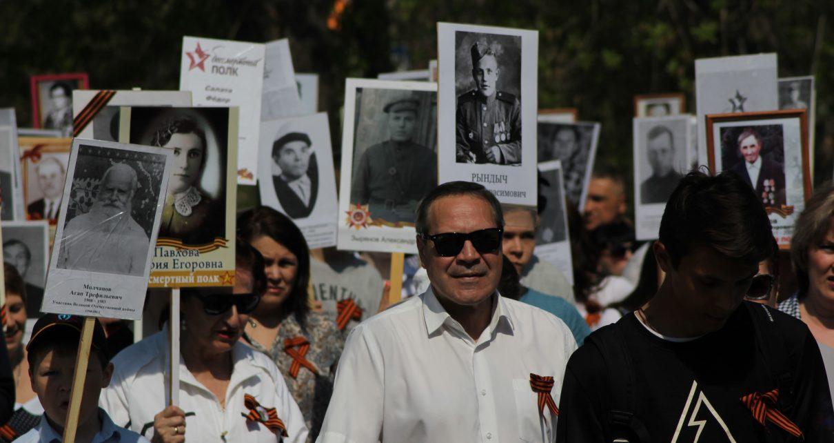 Коркинцы отметили 74-ю годовщину Великой Победы