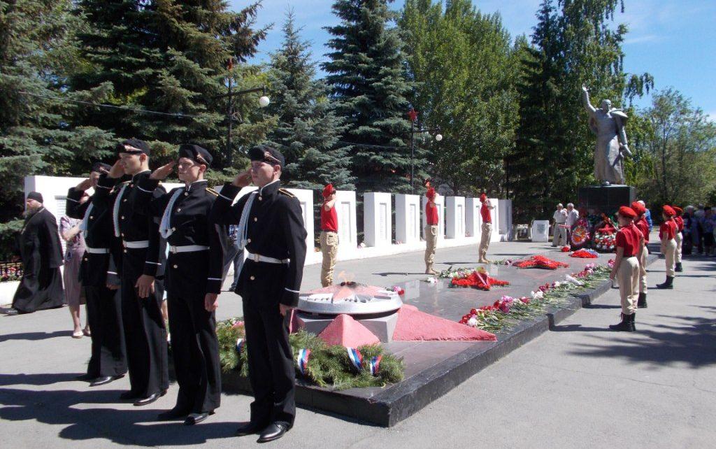 Коркинцы почтили память земляков, погибших в годы Великой Отечественной войны