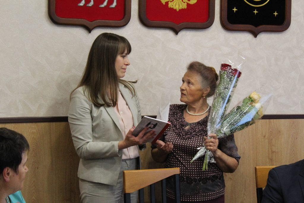 В канун Дня памяти и скорби состоялась встречадетей погибших участников Отечественной войны сглавой района