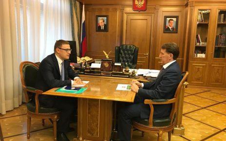 Вопросы экологии обсудили Алексей Гордеев и Алексей Текслер