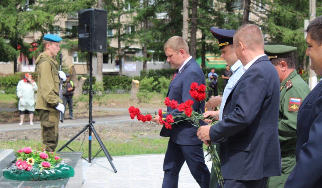 В Коркинском районе почтили память ветеранов боевых действий