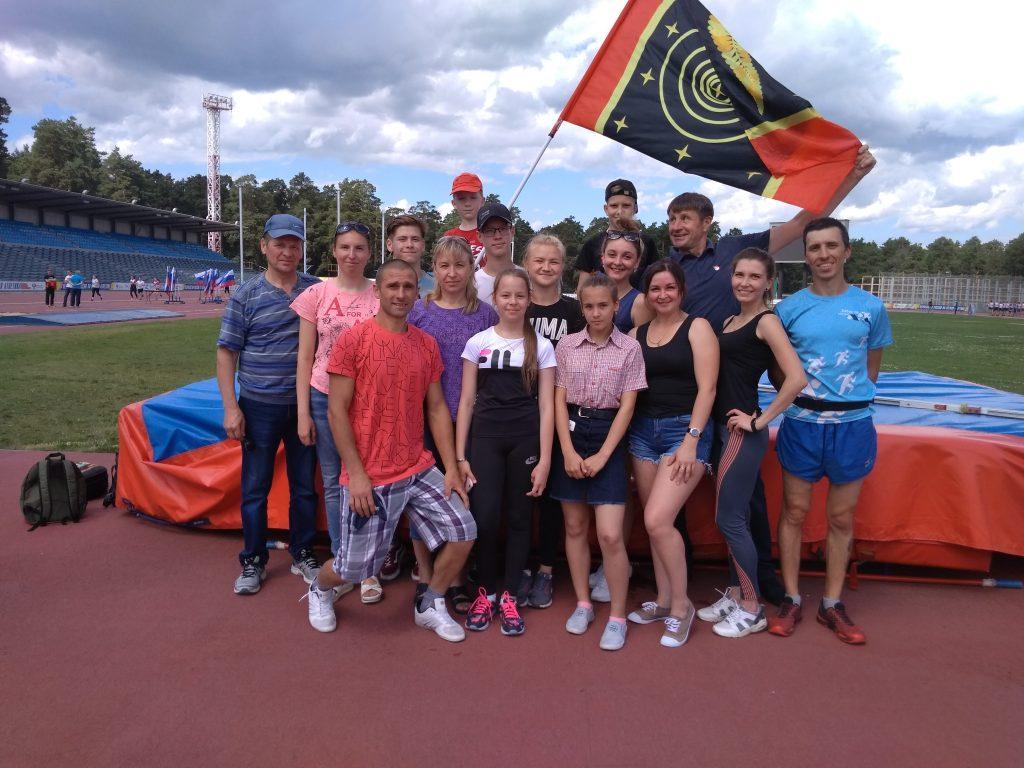 Спортсмены Коркинского района успешно выступили на фестивале ГТО в Челябинске