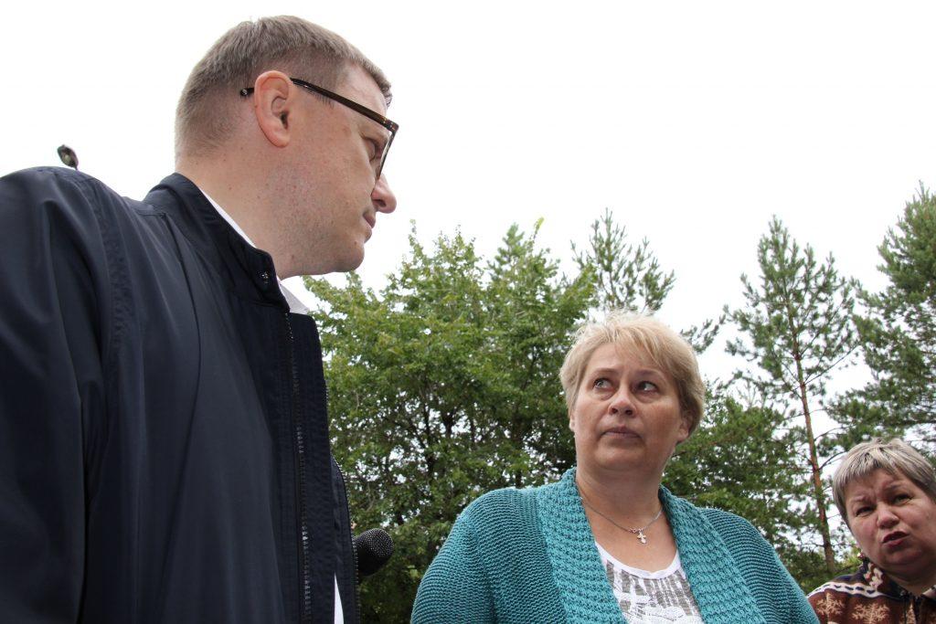 Сегодня в Коркинском районе побывал Алексей Текслер