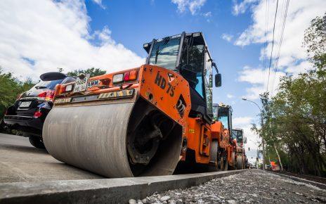 В Коркино начали ремонтировать дорогу по улице Терешковой