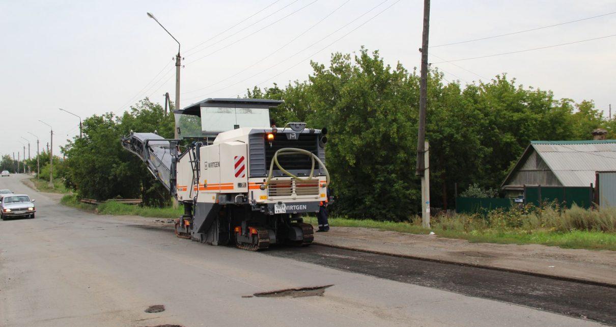 В Коркино приступили к ремонту въезда в город