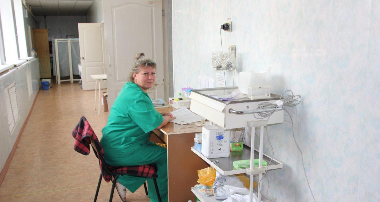 В реанимационном отделении городской больницы № 1 Коркино начался ремонт