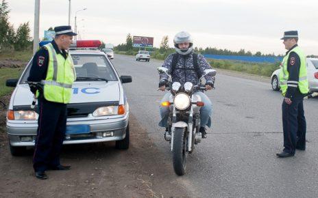 Послезавтра на дорогах Коркинского района начнут проверять мотоциклистов