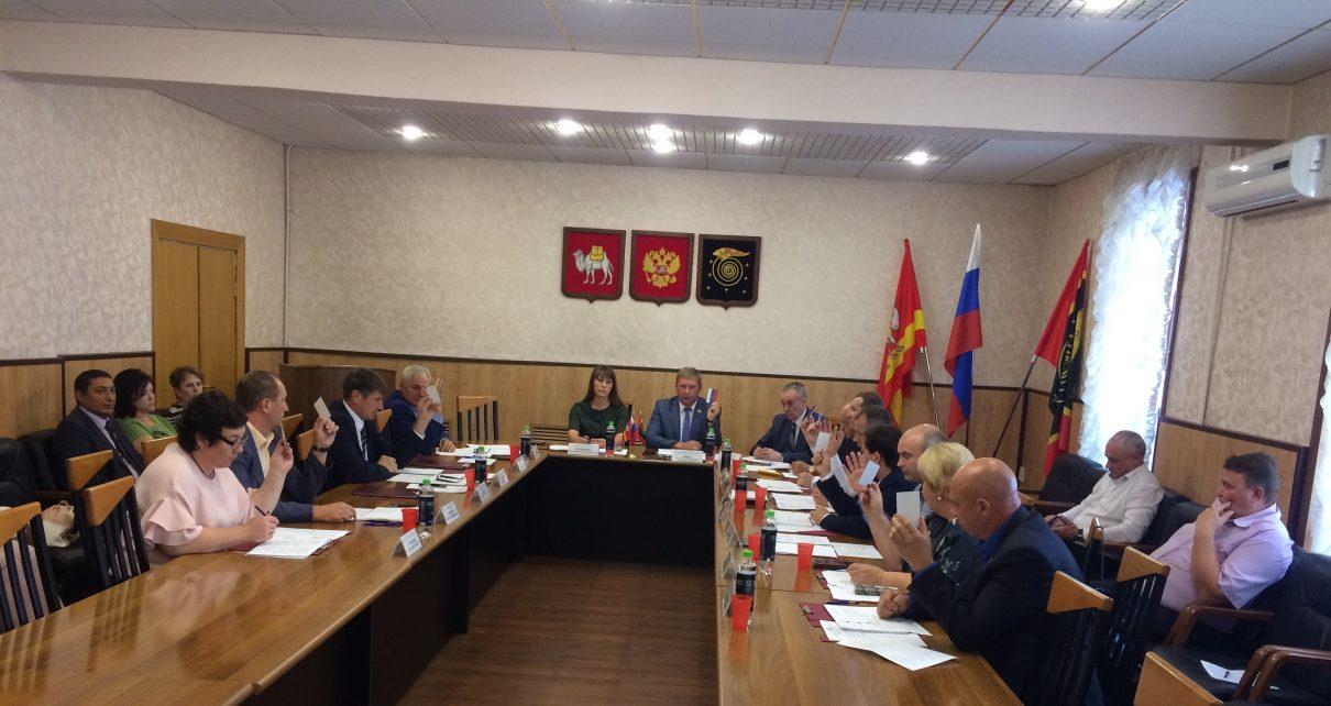Собрание депутатов района инициировало объединение в Коркинский муниципальный округ