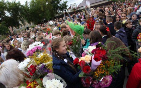 Коркинских школьников поздравили с Днём знаний