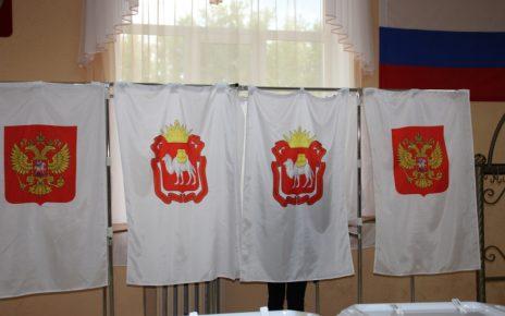 В Коркинском районе свой выбор делают ветераны труда и молодёжь