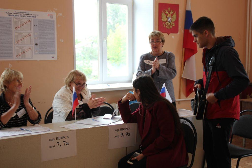 На Розе впервые проголосовали за губернатора Максим Радке и Алина Тухватуллина