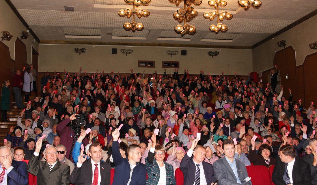 В Коркинском районе жители высказались за преобразования района в округ