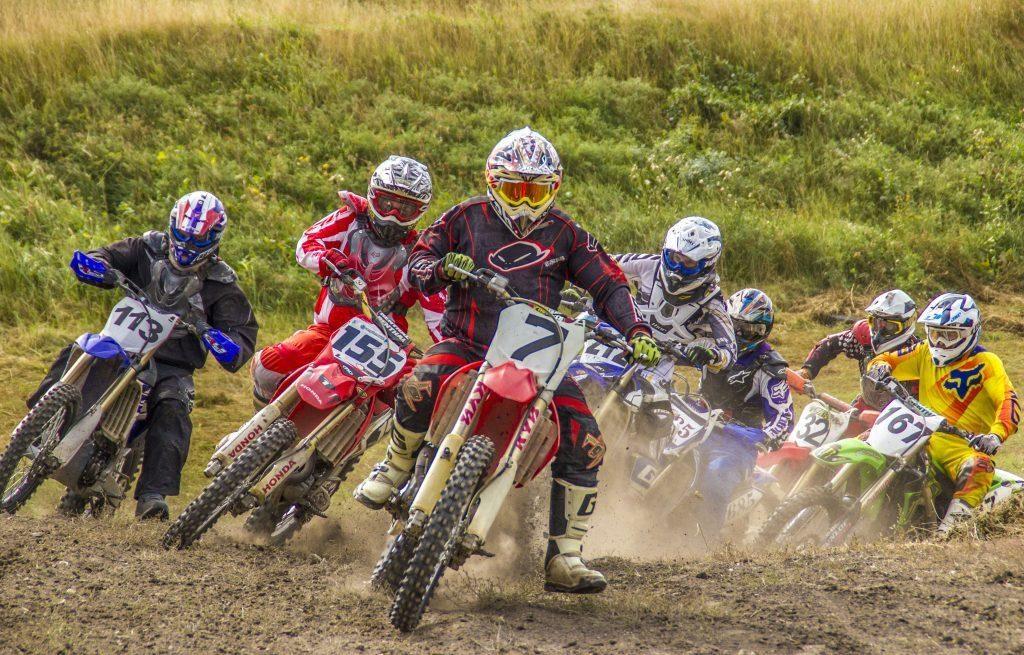В заездах мотокросса победили коркинцы