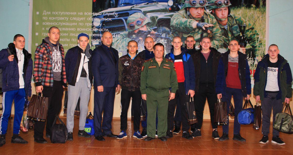В Коркинском районе осенний призыв в разгаре