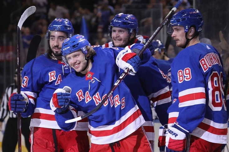 Коркинец Артемий ПАНАРИН дебютировал за «Нью-Йорк Рейнджерс» в НХЛ