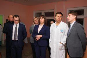 В Коркинский район приезжал новый министр здравоохранения Юрий Семёнов