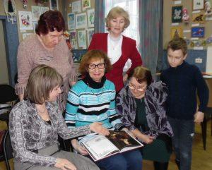 Коркинцы посетили салон «Визави»