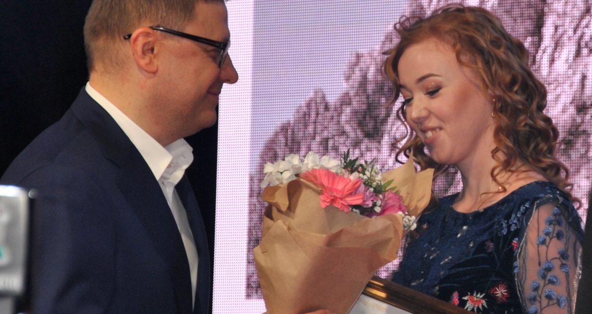 Губернатор наградил молодых и талантливых коркинцев