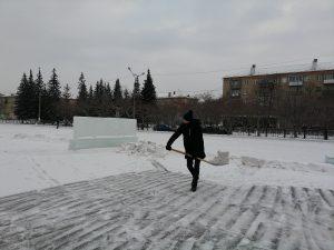 В Коркино строят ледовый городок. Каким он будет?