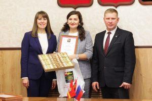 Коркинских предпринимателей наградили за лучшие идеи новогоднего оформления