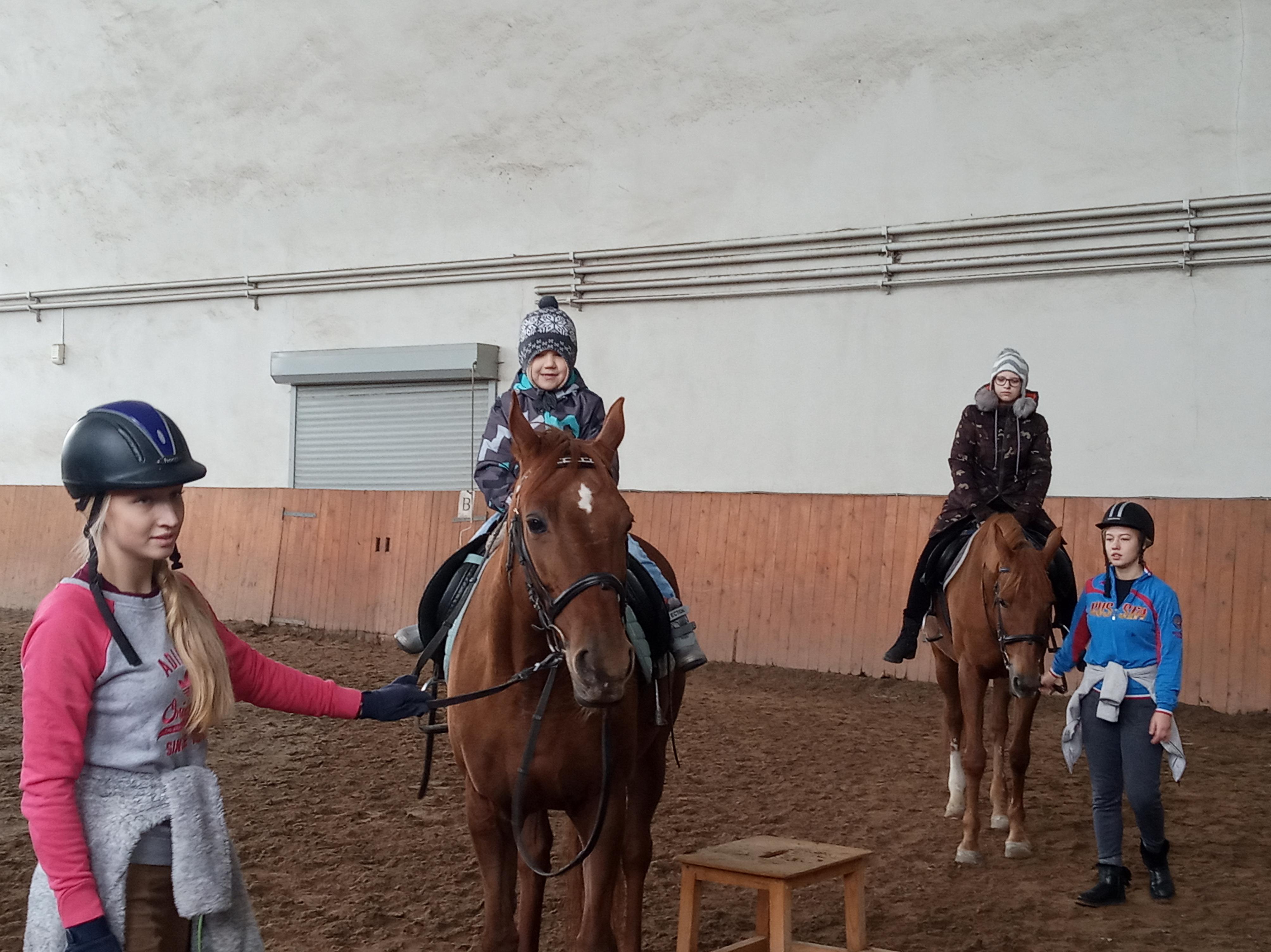 Счастливая поездка коркинских школьников в «Рифей»