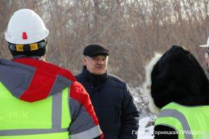 В Коркинский район приезжал министр экологии