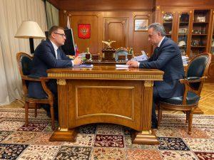 Виталий Мутко обсудил с Алексеем Текслером реализацию федерального проекта «Жильё» в Челябинской  области