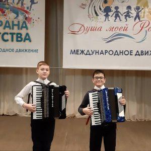 Ученики Коркинской детской музыкальной школы победили на «Радуге надежд»