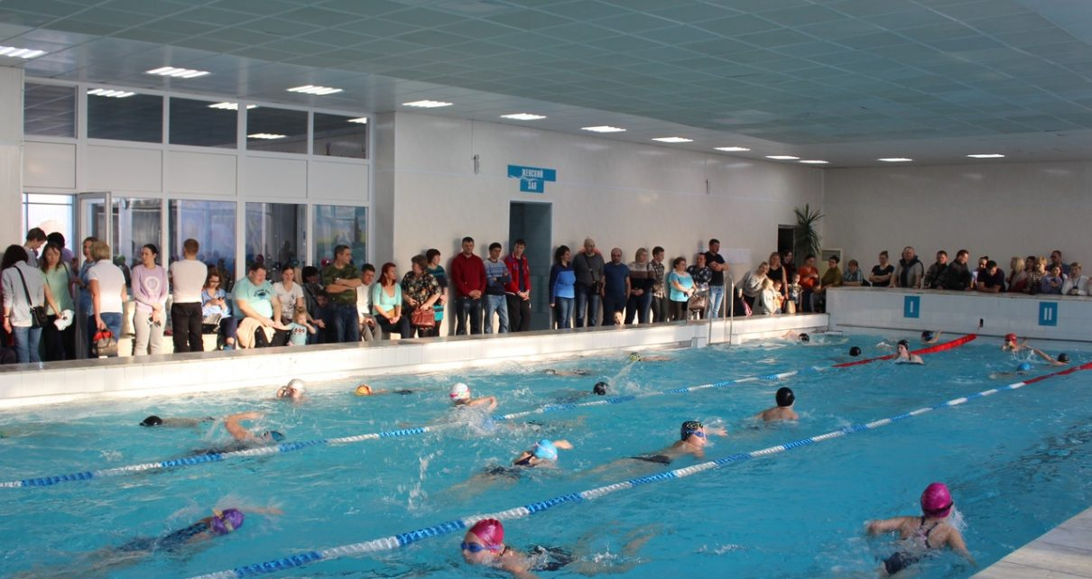 В коркинском бассейне соревновались юные пловцы