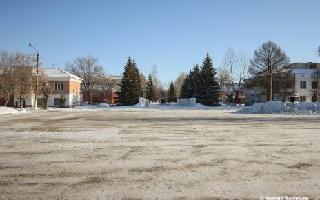 После публикации в «Горнячке» Комсомольскую площадь очистили от снега