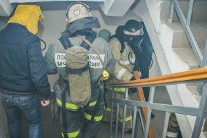 В Коркино из МКД эвакуировали жильцов