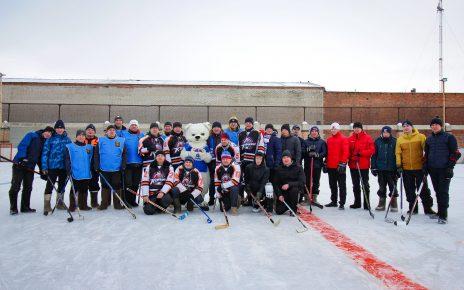 «Футболист» обыграл «Спорты» в хоккее на валенках