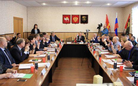 Глава Коркинского района Наталья Лощинина отчиталась перед депутатами
