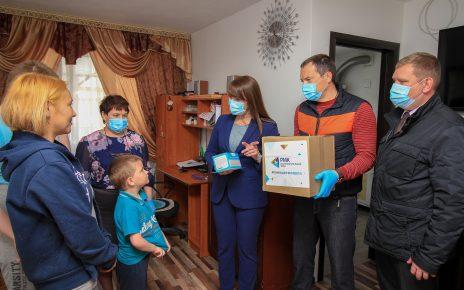 Коркинский район получил средства индивидуальной защиты, а также продовольственные наборы от РМК