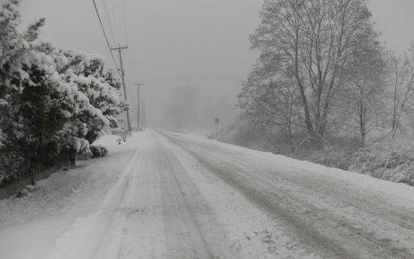 Синоптики прогнозируют на завтра сильный дождь и снег